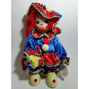 Precious Moments Company Doll Clowning Around Vinyl Head & Body 2006 Multicolor